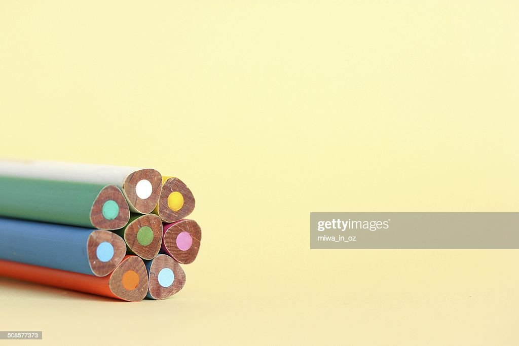 Coloring Pencils : Stock Photo