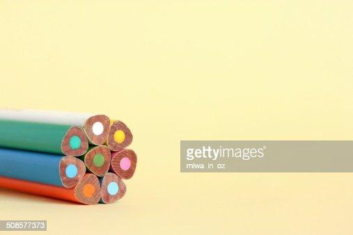 Coloring Pencils : Stock Photo