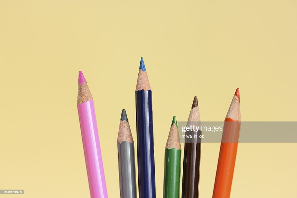 カラー鉛筆 : ストックフォト