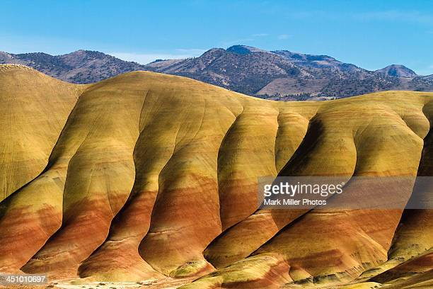 Coloroful Rock Formations of Oregon, USA