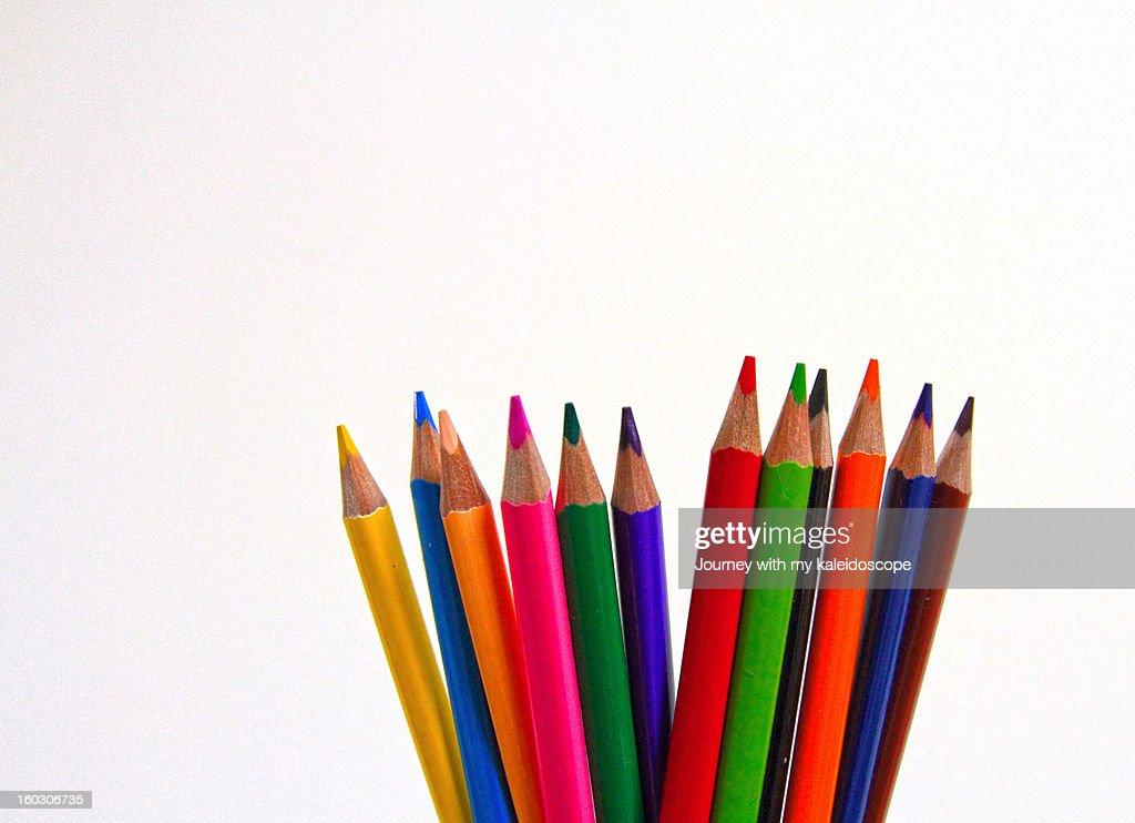 Colors galore : Stock Photo