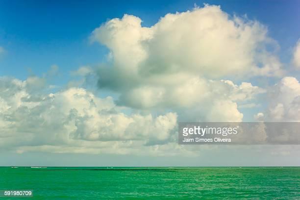 Colors of a Seascape at Japaratinga Beach