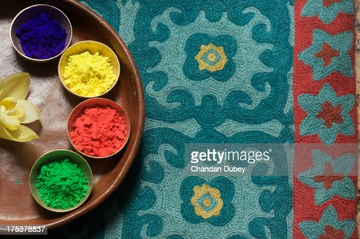 Colors of India:  Holi