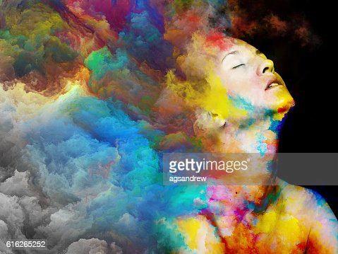 Colors Of Me : Stock Photo