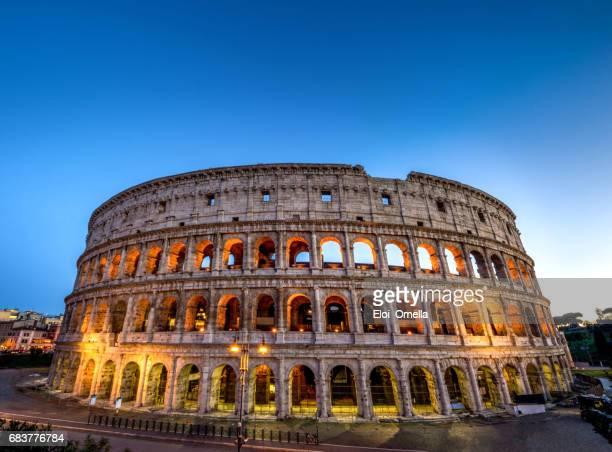 Colosseo roma coliseum colosseum rome no people exterior sunset