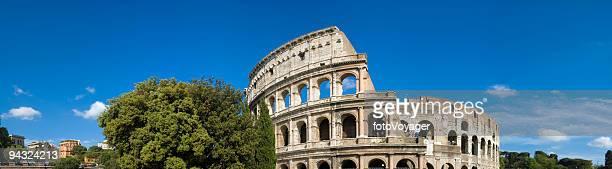 panorama Colosseo Roma Italia