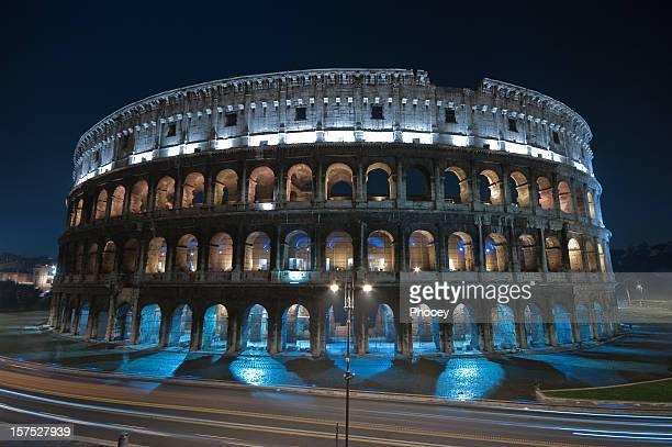 Colosseum in blue
