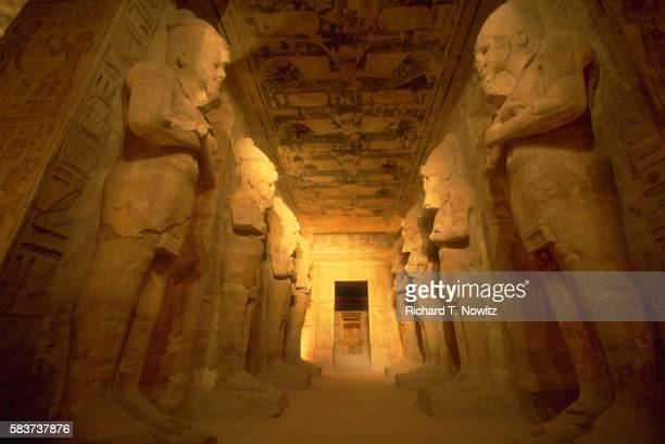 Colossi at Temple of Ramesses II