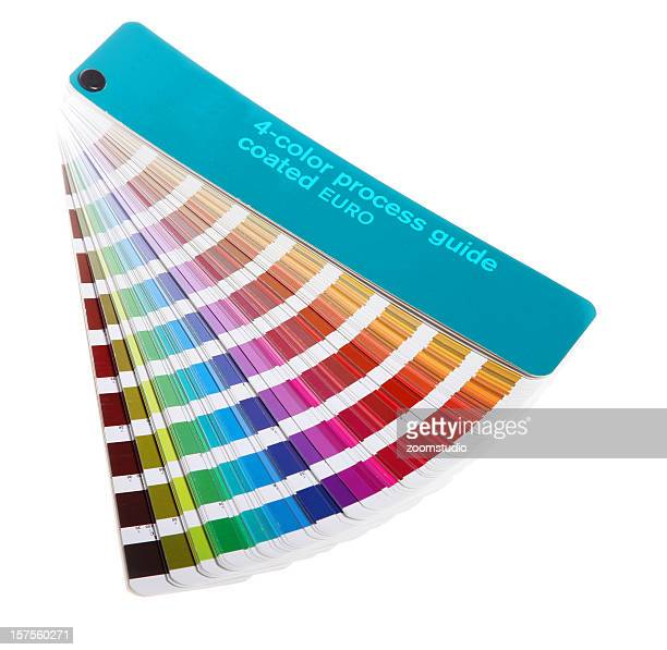 Colour guide - pantone swatch book