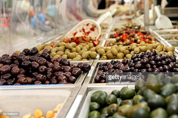 Colour of olives