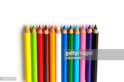 Colour pencils : Stock Photo