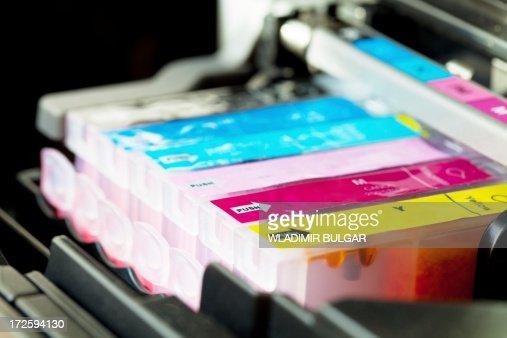 Colour printer cartridge