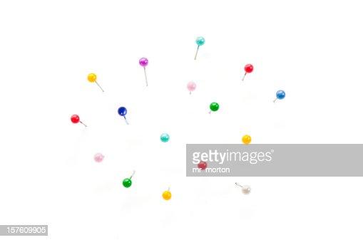 Coloured needles