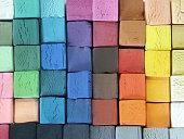 Coloured Pastels