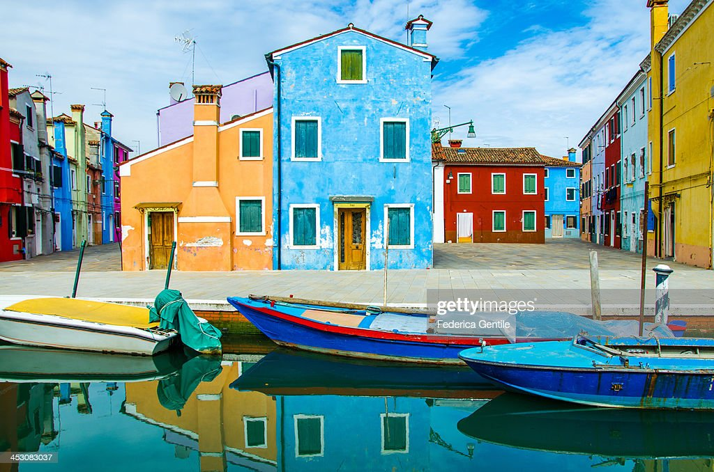 Colourful Burano : Stock Photo