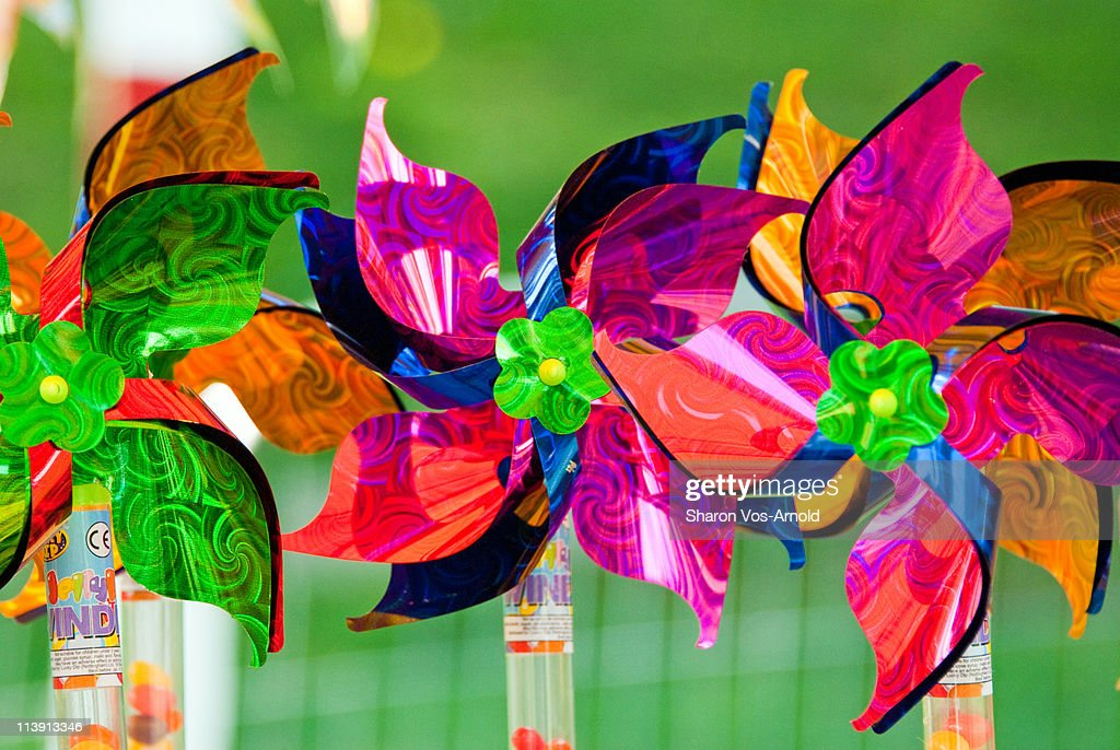 Colourful Candy Pinwheels