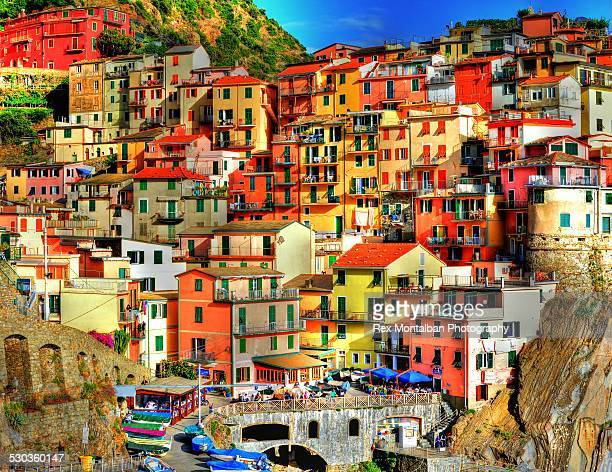 Colourful cinque terre
