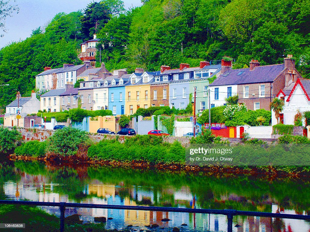 Colourful cork houses