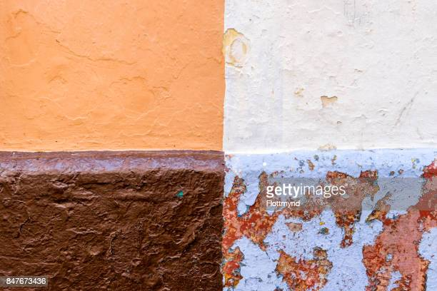 Colourful corner of an old house
