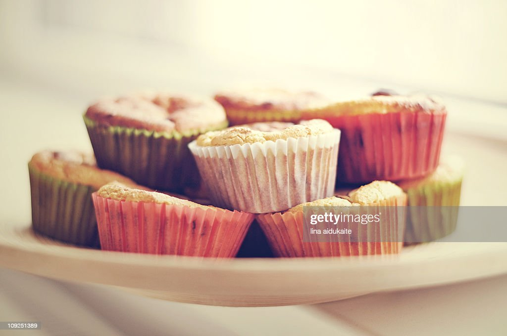 Colourful cupcakes : Stock Photo