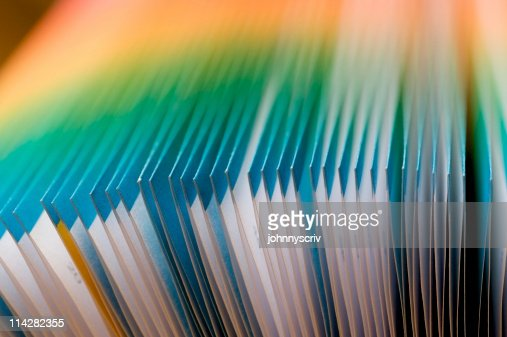 Colourful french Folded Pages...