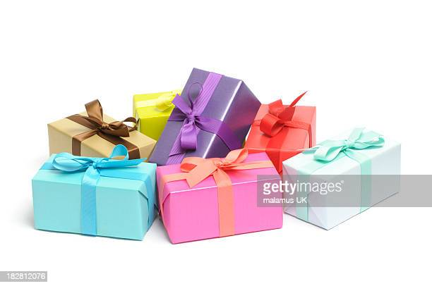 Colourful gifts