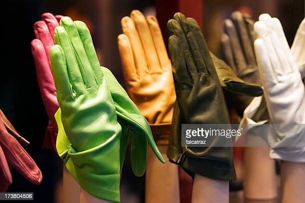 Colourful gloves