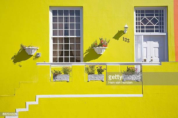 Colourful home in Bo Kaap, Cape Town, Western Cape Province, South Africa