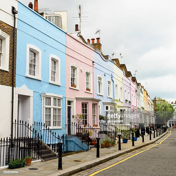 Colourful Homes in Chelsea, London