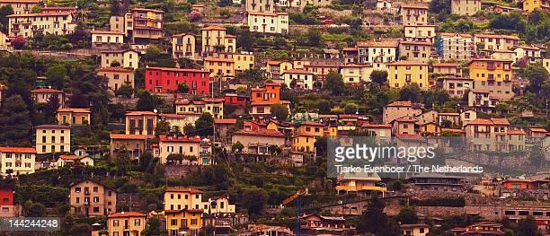 Colourful Italian houses of Cernobbio