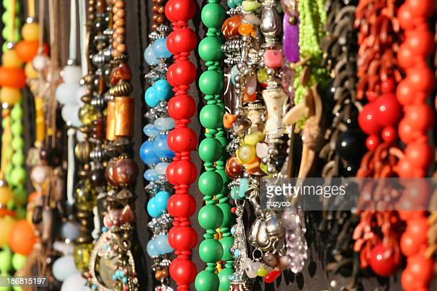colourful jewellery