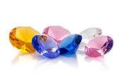 Colourful jewels
