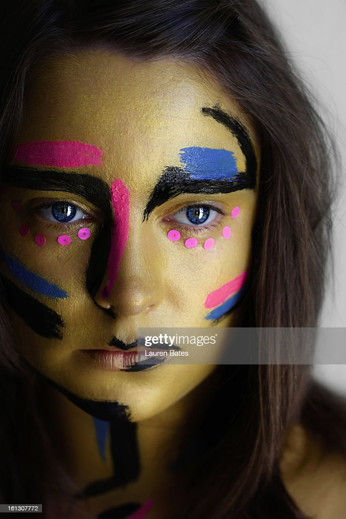 Colourful Make Up : Stock Photo