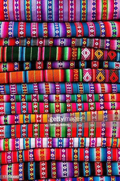 Colourful Peruvian fabrics