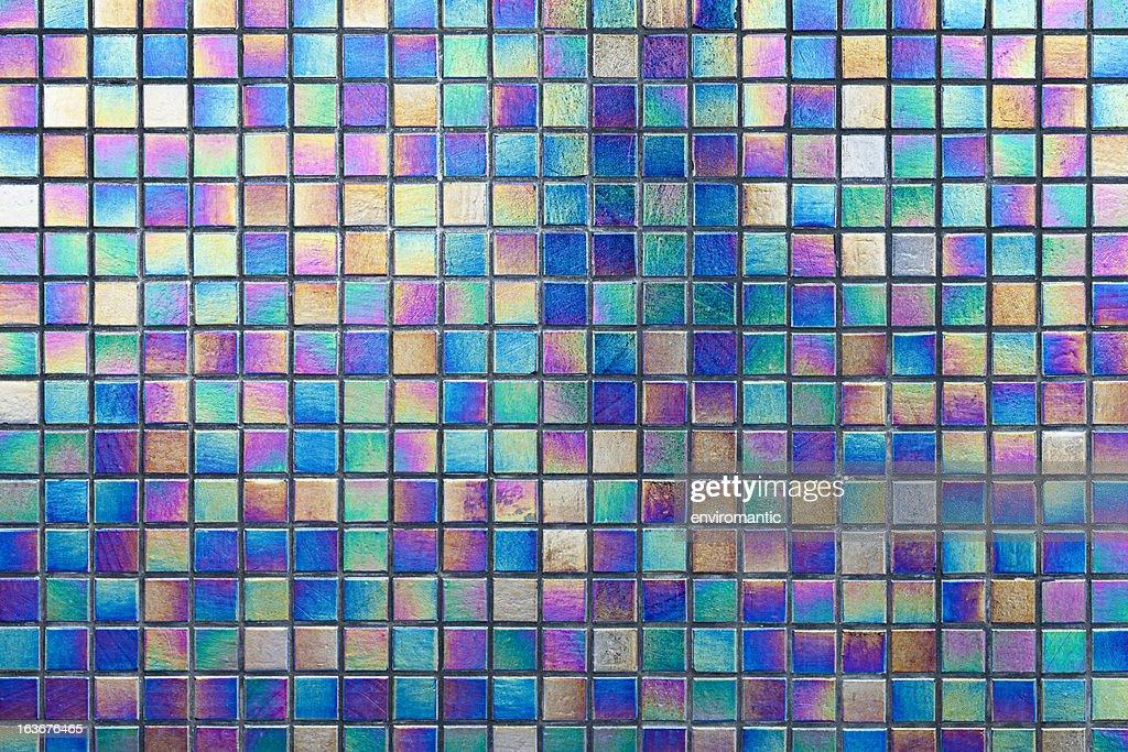 bunte reflektierende mosaikfliesenhintergrund stock foto getty images. Black Bedroom Furniture Sets. Home Design Ideas