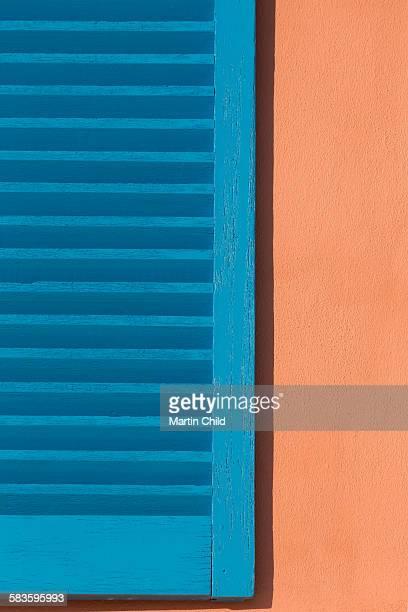 Colourful shutter