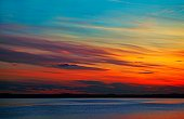 A colourful sunset