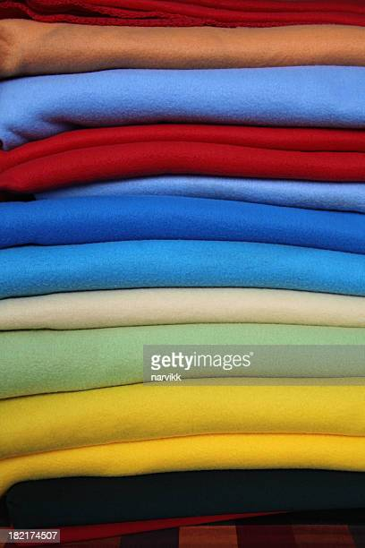 Colourful Textile Blankets