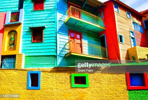 Colourful tourist area. : Stock Photo