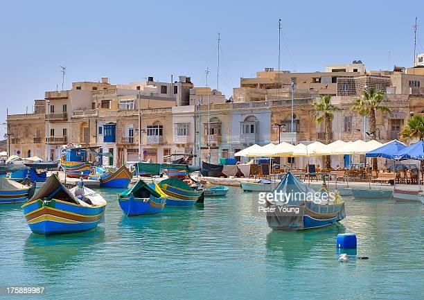 CONTENT] Colours at the fishing port of Marsaxlokk Malta