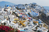 Colours of Fira, Santorini