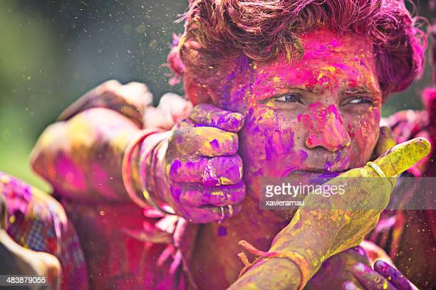 Colours of the holi