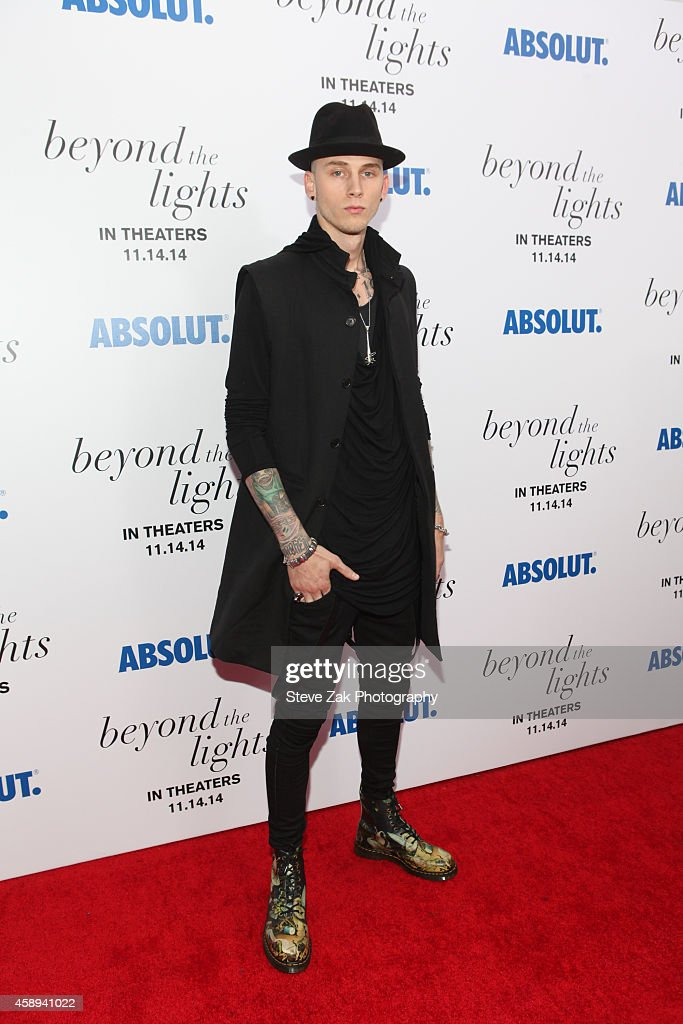 Colson 'MGK' Baker attends 'Beyond The Lights' New York Premiere at Regal Union Square on November 13 2014 in New York City