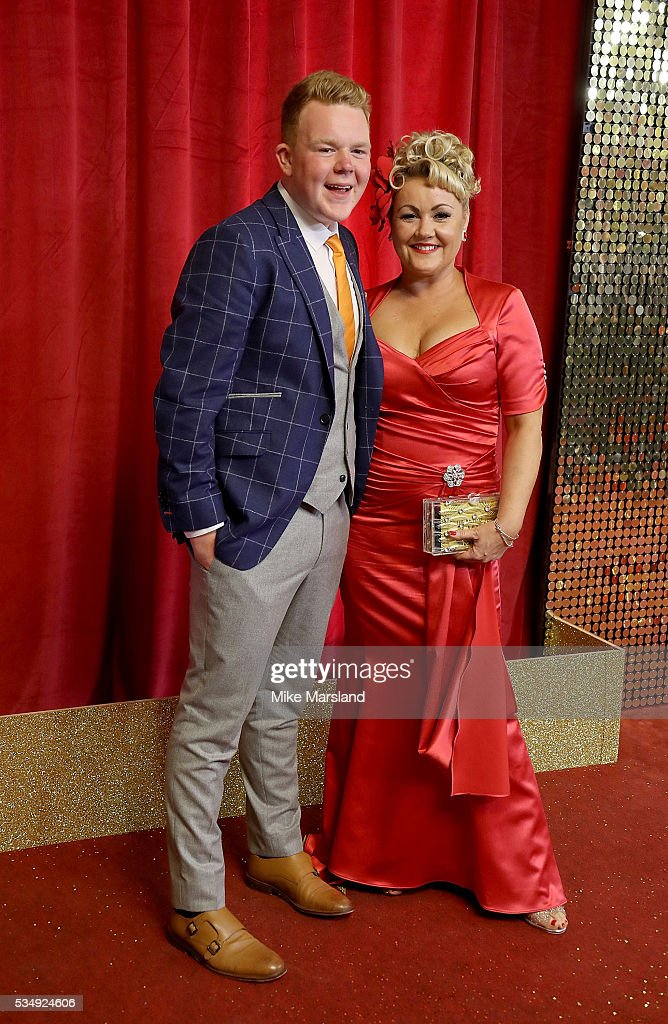 Colson Smith and Lisa George attend the British Soap Awards 2016 at Hackney Empire on May 28, 2016 in London, England.