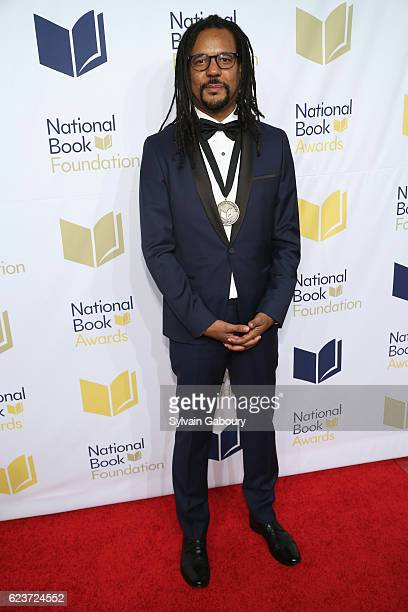 Colson Whitehead attends The 67th National Book Awards Ceremony Benefit Dinner at Cipriani Wall Street on November 16 2016 in New York City