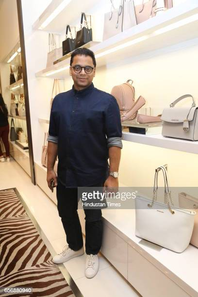 Colston Julian during an event at Michael Kors store at DLF Emporio Mall on March 20 2017 in New Delhi India