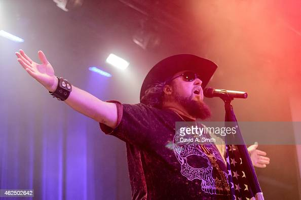 Colt Ford performs at Iron City on January 29 2015 in Birmingham Alabama