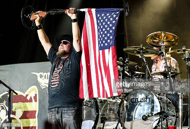 Colt Ford performs at the 5th Annual NRA Country Jam on April 10 2015 in Nashville Tennessee