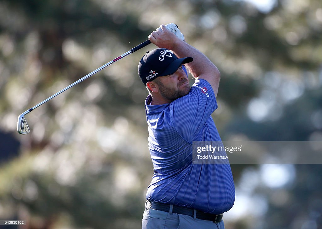<a gi-track='captionPersonalityLinkClicked' href=/galleries/search?phrase=Colt+Knost&family=editorial&specificpeople=4466966 ng-click='$event.stopPropagation()'>Colt Knost</a> plays his shot from the third tee during the first round of the Barracuda Championship at the Montreux Golf and Country Club on June 30, 2016 in Reno, Nevada.