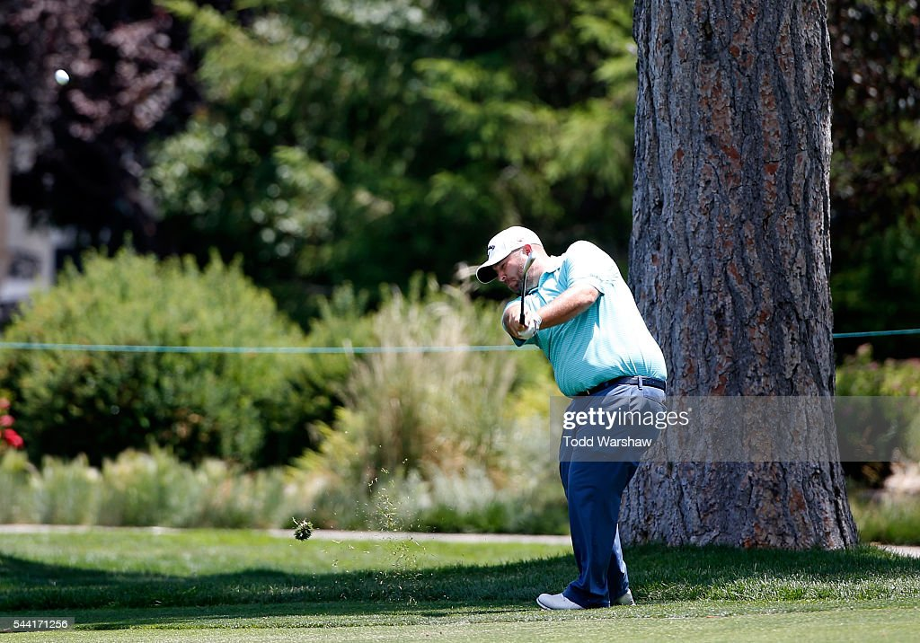 <a gi-track='captionPersonalityLinkClicked' href=/galleries/search?phrase=Colt+Knost&family=editorial&specificpeople=4466966 ng-click='$event.stopPropagation()'>Colt Knost</a> plays his shot on the 12th fairway during the second round of the Barracuda Championship at the Montreux Golf and Country Club on July 1, 2016 in Reno, Nevada.